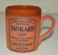 Vintage The Original Suffolk Tankard Henry Watson Pottery England Coffee Mug NM