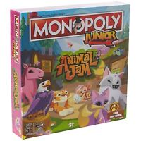Animal Jam Winning Moves Junior Monopoly Board Game