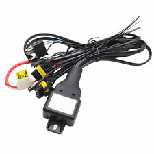 NEW H4 9003 HID Relay Harness 12V 35W/55W Bi-Xenon Hi/Lo H/L Wiring Controller