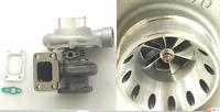 Universal BT3582 GT35 turbocharger .63 hot .70 A/R T3T4 Billet wheel T3 flange