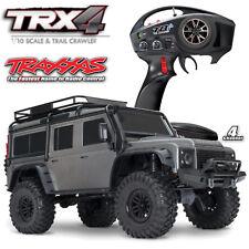 Traxxas # TRX82056-4 Plata TRX-4 Land Rover Crawler Rojo 1-10 Crawler 2,4Ghz