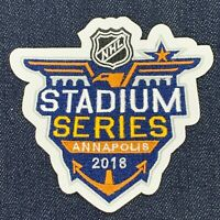 2018 STADIUM SERIES ANNAPOLIS PATCH JERSEY PATCH IRON ON MAPLE LEAFS CAPITALS