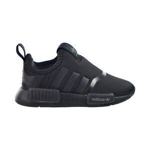 Adidas NMD 360 Toddlers Shoes Core Black-Silver Metallic-White H01857