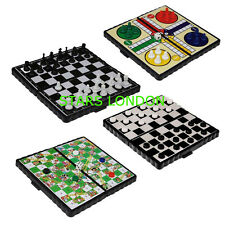 Magnetic Travel Chess Set Compact Folding Board Car Game Camping Holiday Toy