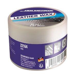 Holmenkol Leather Wax 75 ml Intensivpflege mit Imprägnierung für Leder