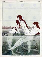 Publicité magazine culturel cover jugend baigner poster art print BB4588B