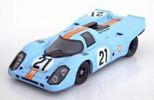 Norev Porsche 917K Gulf 24h Le Mans 1070 Rodriguez/Kinnunen #21 1/18 LE of 1000