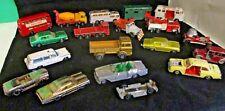 Vintage Matchbox 18 Cars Trucks Lot Lesney Hotwheels Lone Star Aurora