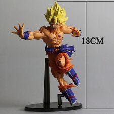 "PVC Anime Dragon Ball DBZ Super Saiyan Son Goku Gokou Figure Figurine Toy 7"" New"