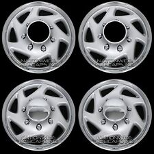 "New Set of 4 FORD 4x4 Truck Van 16"" 8 Lug Full Covers Rim Hub Caps 4 Steel Wheel"