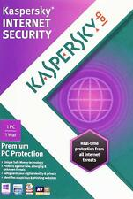 Kaspersky Internet Security - 1PC/1 User - Free upgrade to latest version