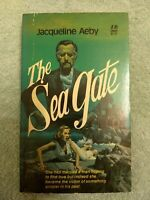 THE SEA GATE by JACQUELINE AEBY-1977 LEISURE PB=GOTHIC ROM/ HORROR/SINISTER EVIL