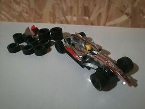 """Carrera Go!!! 1:43 car #61094 F1 McLaren Mercedes Race Car 2008"""" No.22 + tires"""
