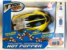 TYCO R/C Hot Popper Jumps On Command! Yellow 49MHz