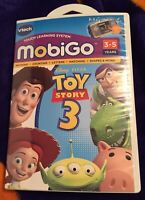 Vtech Touch Learning System MobiGo Disney Pixar Toy Story 3 In EXCELLENT COND!