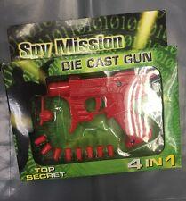 Pistola de patatas Top Secret Die Cast Pistola Pistola Pistola con balas Spud Multi Purp De Agua