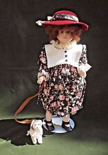"""Margie Costa Royal Collection Porcelain Doll 15"""" Trudy COA Box"""