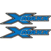 Blue X-Maxx Logo Sticker (2) for Traxxas X-Maxx XMAXX