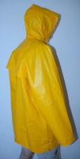 Herren Friesennerz Gummi TOP PVC Regen Jacke + Kapuze Mantel Regenmantel 56 XL