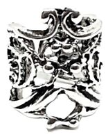 Ear Cuff Filigree Scroll Silver Helix Orbital Cartilage Earring Ornate Silver