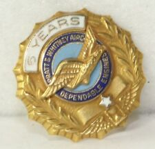 VTG PRATT & WHITNEY 14K GOLD 5 YEAR SERVICE AWARD PIN