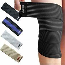 Sport Elastic Calf Leg Bandage Brace Wrist Knee Ankle Elbow Support Wrap Band