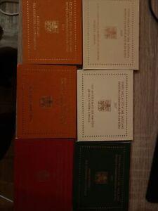 2 Euro Vatikan 2004, 2008-2018  15 Stück  2 Euro Gedenkmünzen