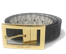 Michael Kors Women's MK Signature Twist Reversible Belt  MSRP $48