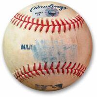 Zack Greinke Game Used Baseball 8/26/13 - Lake Foul Ball Dodgers EK659693