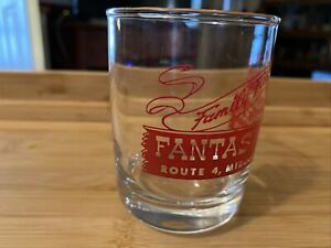 Vintage Fantasy Farm Amusement Park Cup Glass-- Middletown, Ohio-