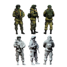 1 35 tuskmodel Scale Top Resin Model Figures WW2 kit Modern Russian Soldiers e3