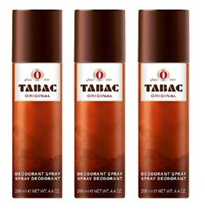 TABAC Original Deo Spray Deodorant 3 x 200 ml