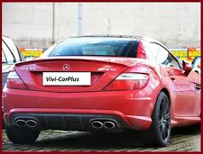 M-Benz R172 SLK350 11-15 Pick Color AMG Type Trunk Boot Spoiler Wing Lips SLK250