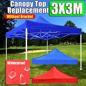 Canopy Top Replacement Tent Patio Garden Gazebo Top Sun Shade Cover Outdoor C P3