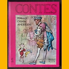 CONTES Perrault Grimm Andersen N. Charpiot Marino années 1980