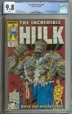 INCREDIBLE HULK #346 CGC 9.8 WHITE PAGES