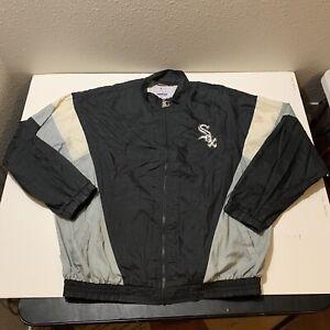 Vintage Chicago White Sox Starter Windbreaker Jacket MLB Baseball Rare Size XXL