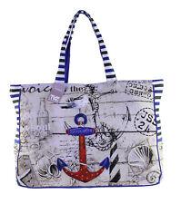 Strandtasche, Freizeittasche Anchor & Seagull, Kollektion Ocean