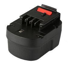 Batería Black & Decker HP12 HP12K HP12KD HP122 HP122K HP122KD 12v 2000mAh