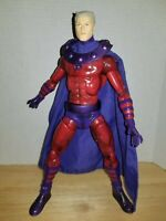 "Hasbro 2006 Marvel Legends Icons Series Magneto 11.5"" Action Figure No Helmet"