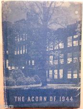 1944 JEFFERSON HIGH SCHOOL YEARBOOK, THE ACORN, ROANOKE, VA