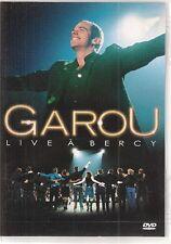 DVD ALL ZONES CONCERT 18 TITRES--GAROU--LIVE A BERCY 2002