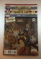 CAPTAIN AMERICA COMICS 1 70TH ANNIVERSARY HITLER VARIANT MARVEL
