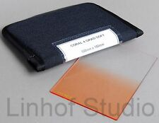 Lee Filters 100x150mm Coral 4 Soft Graduated Resin Filter