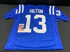 TY HILTON INDIANAPOLIS COLTS SIGNED CUSTOM JERSEY JSA WITNESSED COA WPP250245