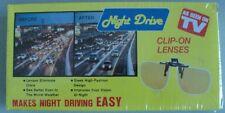 Lentes Clip-on para conducir por la noche