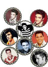 Elvis Presley king Bottlecap refrigerator magnets lot of 8  collectibles