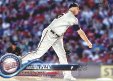 2018 Topps #595 Addison Reed NM-MT Twins  ID:159524