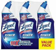 Lysol Power Toilet Bowl Cleaner, 24 oz (Pack of 3) Value Pack