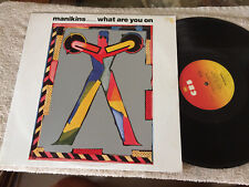 """MANIKINS WHAT ARE YOU ON VINYL RECORD 12"""""""